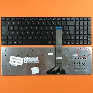 DE - Schwarz Tastatur Keyboard ohne Rahmen komptibel für P/N: MP-11G36D0-698W