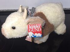 "Gund Cow/Bull ""Curly Moo Moo"" With Tag Plush Toy Stuffed Animal"