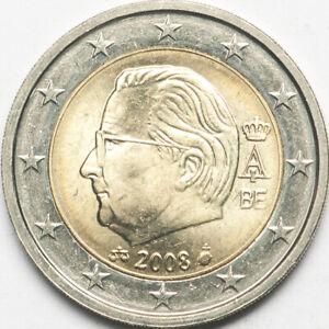 Belgium 2 euro 2008 regular (#5737)