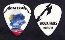 Metallica James Hetfield Sioux Falls 9/11/18 Guitar Pick - 2018 WorldWired Tour