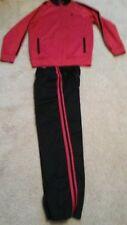 Boys Starter outfit Size 10-12 (L) Inseam 33 1/2 2 Pockets Red & Black