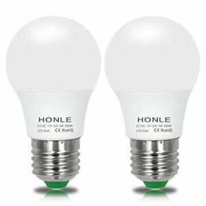 E26 LED Light Bulbs 3W 12V Low Voltage Warm White 3000K E27 Edison Standard Scre
