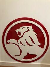 HOLDEN SIGN, Red Lion old school design, 900mm diameter