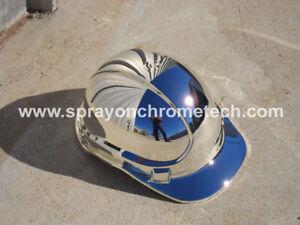 Spray On Chrome Metalizing Kit  Airbrush  Spray Metal Plating