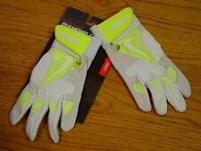 Adult Mens S Nike Diamond Elite Pro Batting Gloves Softball Baseball Neon Small