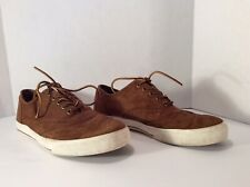 Polo Ralph Lauren Sherwin Brown Suede Shoes Sneakers Size 10.5