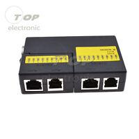 LAN Cable Tester RJ45 RJ11 Network Test Tools Check for UTP/STP Network