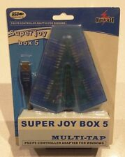 Mayflash Super Joy Box 5 Connect 4x PS/PS2 controller to USB Adapter BRAND NEW