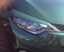 Corolla Metallic Green Headlight Eyelid + Side Marker overlays pre-cut 4 pieces