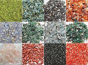 50-150  TUMBLED BEADS Mini Gems Crystals Rare Natural Genuine You Choose Stones