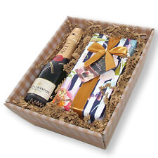 Mini Moet Brut Champagne and chocolates in tray
