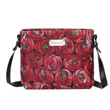 Signare Womens Tapestry Fashion Shoulder Handbag Across Body Rose & Tear