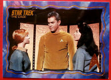 "STAR TREK TOS 50th Anniversary - ""THE CAGE"" - GOLD FOIL Chase Card #68"