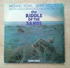 The Riddle of the Sands (1979) PAL Laserdisc 725 0007 0   NEW SEALED