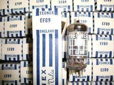 10 X EF89 TEONEX NOS/NIB TUBES.