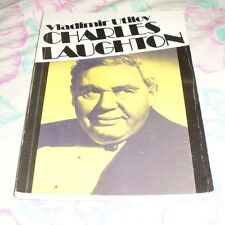 WELL ILLUSTRATED ESTONIAN BOOK ABOUT CHARLES LAUGHTON FROM 1986 - 160 PAGES!