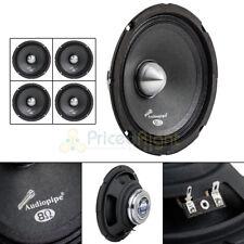 """4 Audiopipe APMB-611DR 6.5"""" 250W Low Mid Frequency Loudspeakers Neodynium Magnet"""