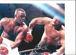 MIKE TYSON vs BUSTER DOUGLAS 8X10 PHOTO BOXING PICTURE