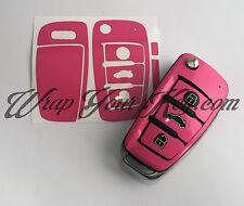 ROSA BRILLANTE Llave Envolvente Carcasa Fina Audi Mando A1 A3 A4 A5 A6 A8 TT Q3