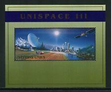 UN-Geneva #342, 1999 UNISPACE III, Souvenir Sheet Unused NH