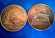 300 años Fundación PONCE PUERTO RICO 1692 - 1992 PERLA DEL SUR Bronze Scarce