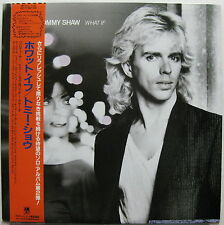 TOMMY SHAW What If 1985 JAPAN ORG LP Minty Fresh! STYX