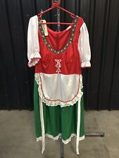 ex hire fancydress costumes - Alpine Girl Dress Oktoberfest Size Large