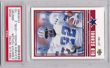 1999 UD Retro Emmitt Smith Fred Taylor Old School GOLD /50 PSA 10  Very Rare!