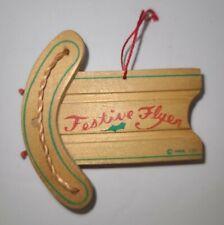 Hallmark Festive Flyer Sled Christmas Ornament