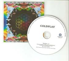 COLDPLAY 'EVERGLOW' RARE DUTCH ONE TRACK CD PROMO