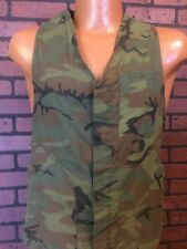 Vintage Mens RANGER Camouflage Hunt Vest Shooting Game Pouch Field Rated Size M