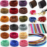 Wholesale 10yd 3mm Suede Leather String Thread Cord Jewelry Making Bracelet DIY