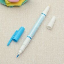 Erasable Pen Water Soluble Fabric Dual function Marker Pen for Tailor's Chalk