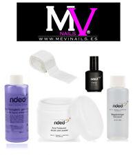 Poudre Transparent 30g,Liquide Acrylique faible odeur,Primer,nettoyant et