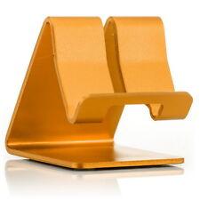 Aluminium Handy Halterung Tablet Halter Stativ Tisch Ständer Stand Ablage Gold