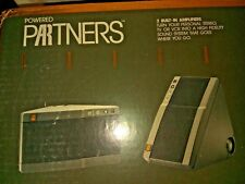 ACOUSTIC RESEARCH   POWERED PARTNERS Amplified Speakers   NEW OLD STOCK  