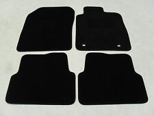 Chevrolet Aveo 2008-11 Fully Tailored Deluxe Car Mats in Black.