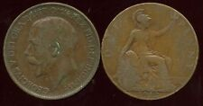 GREAT BRITAIN  one penny  1912   ( etat )