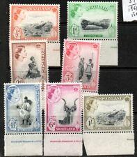 Swaziland QEII to 1/- mint