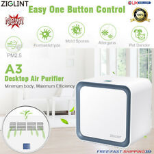 ZIGLINT PRO HEPA AIR PURIFIER IONISER AIR CLEANER REMOVES 99.97% ALLERGEN POLLEN