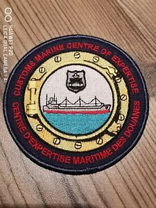 "Rare Canada Customs ""Marine Centre of Expertise"" patch!"