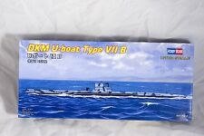 Hobby Boss DKM U-Boat Type VII B 1/700 Scale Palstic Kit