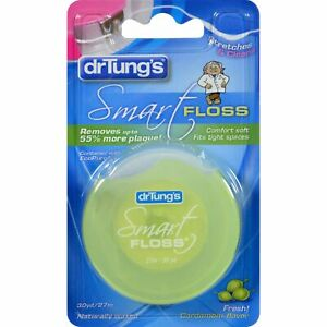 Dr. Tungs Smart Floss - 30 Yards - Case Of 6 (Pack of 2)