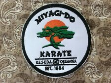 Patch Miyagi Do Karate Okinawa Mixed Martial Arts Cobra Kai Keysuke Myagi