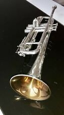 Henri Selmer Trompete Artist 25 Large Bore Vintage Trumpet Gold Lacquered Bell