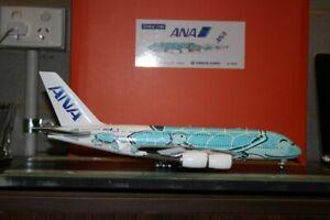 "JC Wings 1:200 ANA All Nippon Airbus A380-800 JA382A ""Honu Turtle"" (EW2388002)"