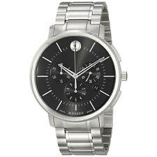 Movado 0606886 Men's MOVADO TC Silver-Tone Quartz Watch