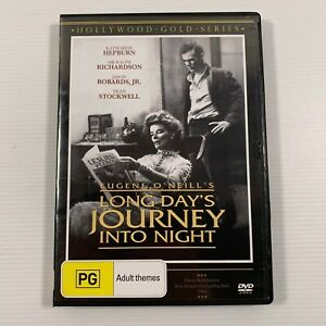 Long Day's Journey Into Night (DVD 2019) 1962 film Katherine Hepburn Region 4