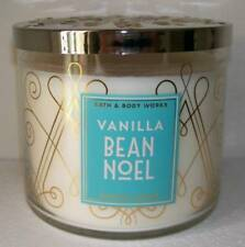 BATH & BODY WORKS VANILLA BEAN NOEL 14.5OZ JAR CANDLE SO DELICIOUS!