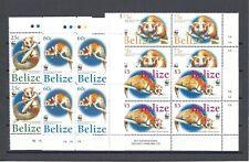 More details for belize 2004 sg 1315/18 mnh blocks of 4 cat £32